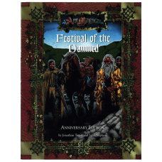 Ars Magica RPG: Festival of the Damned Anniversary Edition