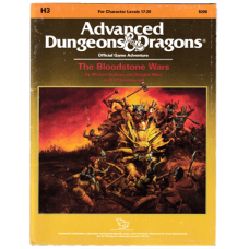 Advanced Dungeons & Dragons RPG: The Bloodstone Wars