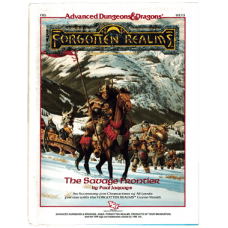 Advanced Dungeons & Dragons RPG Forgotten Realms: The Savage Frontier