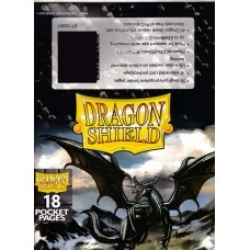 Dragon Shield: 18-Pocket Pages Non-Glare (50 stk)