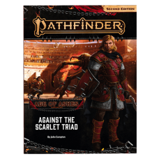 Pathfinder 2nd Edition: Adventure Path #149: Against the Scarlet Triad (Age of Ashes 5 of 6)