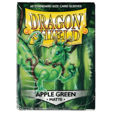 Dragon Shield Matte - Apple Green (60 stk)