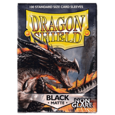 Dragon Shield Matte Non-Glare - Black (100 stk)