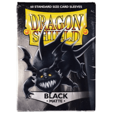 Dragon Shield Matte - Black (60 stk)