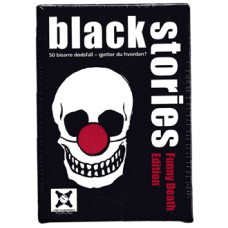 Black Stories Funny Death Edition (Norsk Utgave)