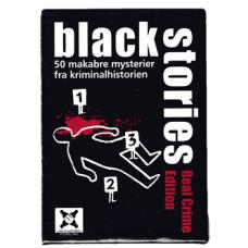 Black Stories Real Crime Edition (Norsk Utgave)