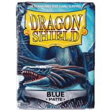 Dragon Shield Matte - Blue (100 stk)