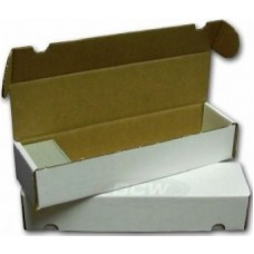 Fold-out Box for Storage of 1.000 Cards