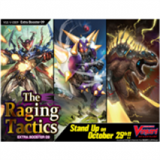 Cardfight!! Vanguard V - The Raging Tactics Extra Booster Display