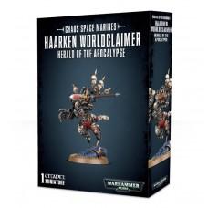 Chaos Space Marines: Haarken Worldclaimer, Herald of the Apocalypse