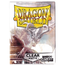 Dragon Shield Matte Non-Glare - Clear (100 stk)