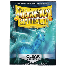 Dragon Shield Matte - Clear (100 stk)