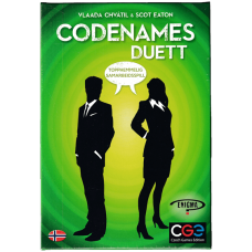 Codenames Duet Norsk Utgave