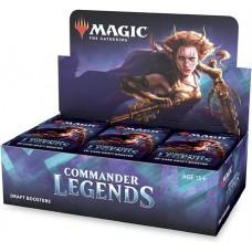 Commander Legends booster display