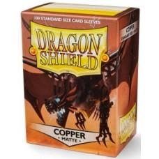 Dragon Shield Matte - Copper (100 stk)