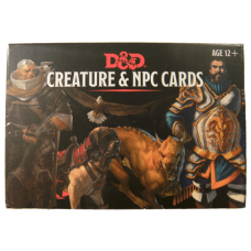 Dungeons & Dragons 5th Ed: Creature & NPC Cards