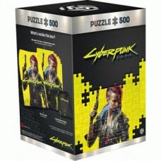 Cyberpunk 2077: Keyart Female V Puzzle 500