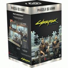 Cyberpunk 2077: Metro Puzzle 1000