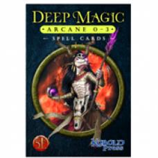 Deep Magic Spell Cards: Arcane 0-3