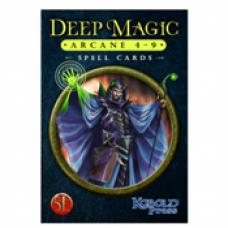 Deep Magic Spell Cards: Arcane 4-9