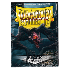 Dragon Shield Matte - Black (100 stk)