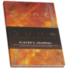 Dune: Adventures in the Imperium Player's Journal