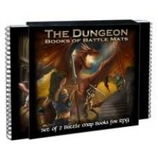 Dungeon Books of Battle Mats