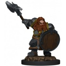 D&D Icons of the Realms Premium Figures: Dwarf Fighter Male