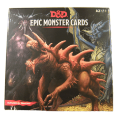 Dungeons & Dragons 5th Ed: Epic Monster Cards