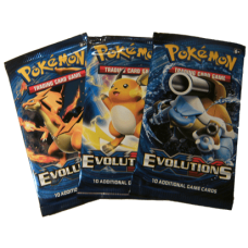 XY Evolutions booster pack