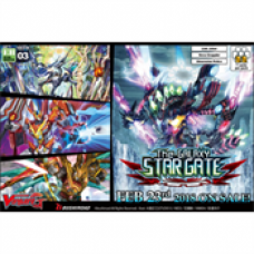Cardfight!! Vanguard G - Extra Booster Display 03: The Galaxy Star Gate (12 Packs)