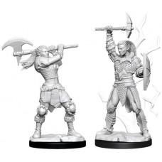 D&D: Female Goliath Barbarian