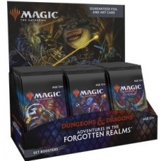 Adventures in the Forgotten Realms Set Booster Display