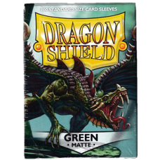 Dragon Shield Matte - Green (100 stk)