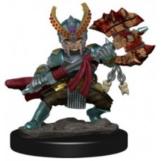 D&D Icons of the Realms Premium Figures: Halfling Fighter Female