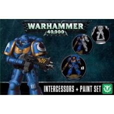 Space Marines: Assault Intercessors + Paints Set