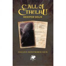 Call of Cthulhu RPG - The Malleus Monstrorum Keeper Deck