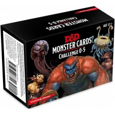 Dungeons & Dragons 5th Ed. Challenge 0-5 Monster Cards