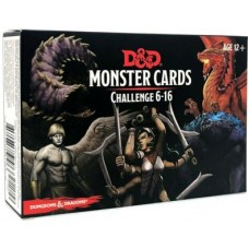 Dungeons & Dragons 5th Ed. Challenge 6–16 Monster Cards