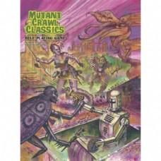Mutant Crawl Classics Core Softcover Rulebook