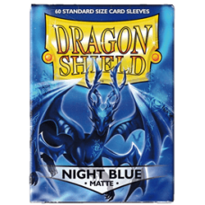 Dragon Shield Matte - Night Blue (60 stk)
