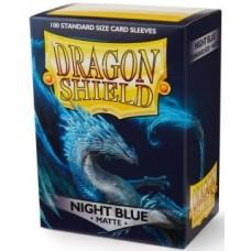 Dragon Shield Matte - Night Blue (100 stk)