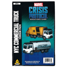 Marvel: Crisis Protocol: NYC Commercial Truck Terrain Pack
