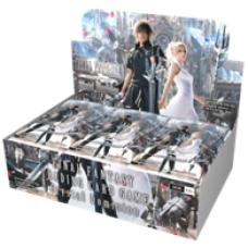 Final Fantasy TCG Opus XV Crystal Dominion Booster Display