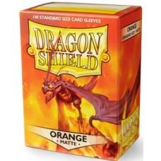 Dragon Shield Matte - Orange (100 stk)