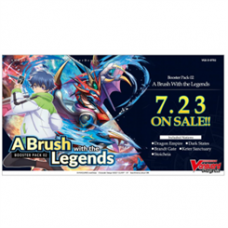Cardfight!! Vanguard overDress - Booster Display: A Brush with the Legends