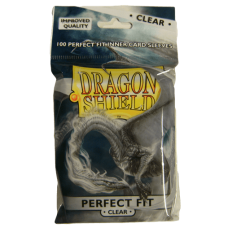 Dragon Shield: Perfect Fit - Clear (100 stk)