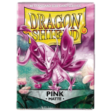 Dragon Shield Matte - Pink (60 stk)