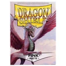 Dragon Shield Matte - Pink (100 stk)