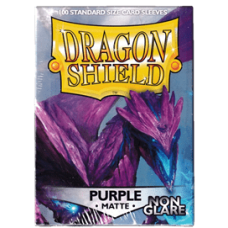 Dragon Shield Matte Non-Glare - Purple (100 stk)